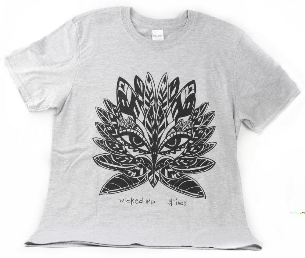 """owl goddess"" T shirt"