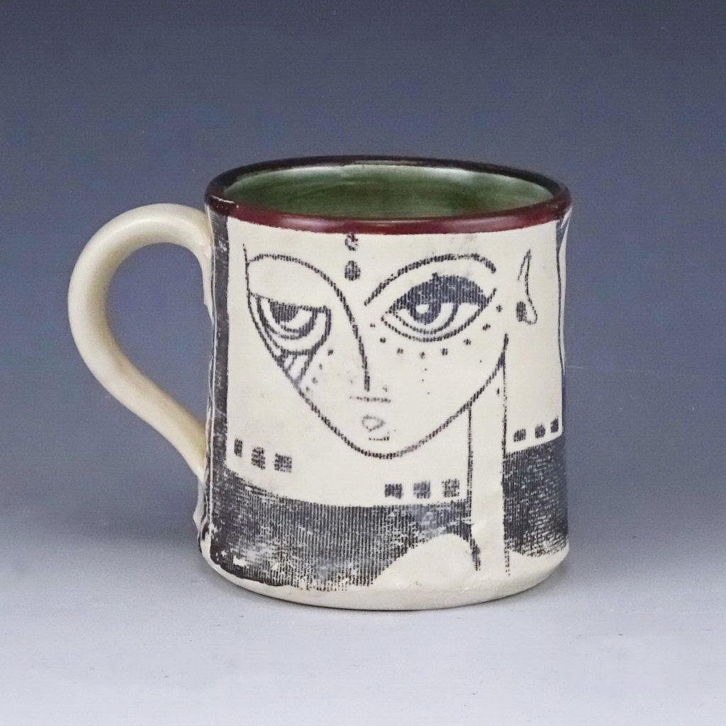 best friends ceramic handmade mug wicked imp designs