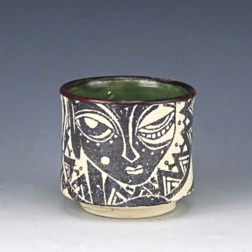 earthenware unomi St Ives Cornwall, just the two of us ceramic unomi wicked imp designs