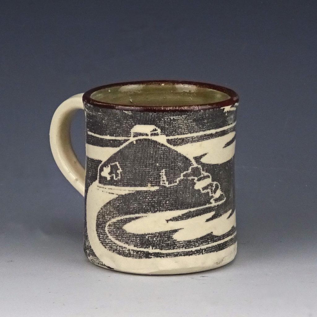 ceramic mug the island st ives