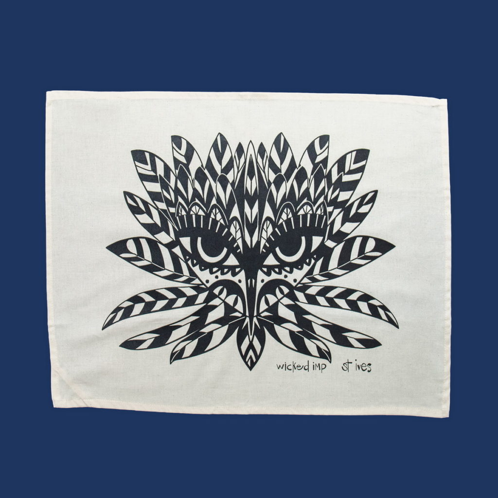 wicked-imp-designs-savannah-overy-limited-edition-tea-towel-wren-goddess